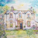 Personalised House Portrait Painting