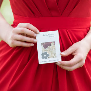 25 Wedding Confetti Sachets