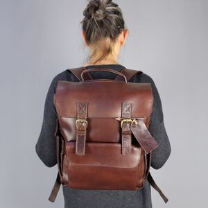 Personalised Backpack In Eco Leather
