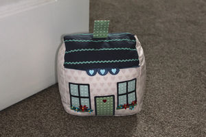 Cottage Doorstop - living room