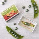 Green Freshwater Pearls Mushy Pea Matchbox