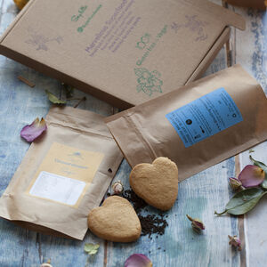 Earl Grey Tea And Cookies. Letterbox Gift