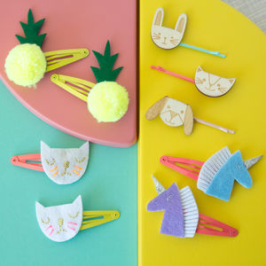 Playful Hair Slides - hair accessories
