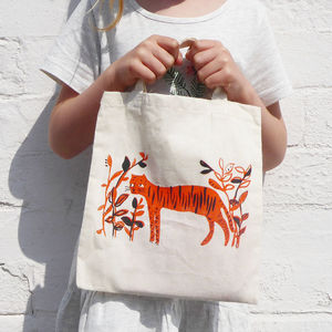 Children's Tiger Tote Bag - bags, purses & wallets