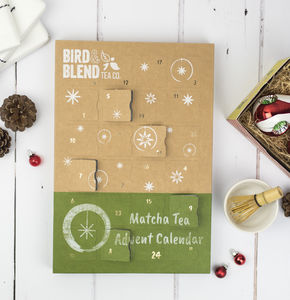 Matcha Green Tea Advent Calendar + Matcha Travel Whisk - tea & infusions
