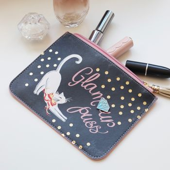 House Of Disaster Keepsake 'Glamour Puss' Pouch
