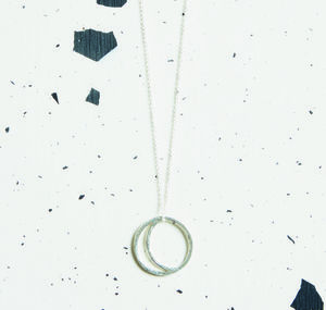 Crescent Lune Pendant Necklace