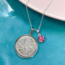 Lucky Sixpence Year Coin Necklace 1928 To 1967