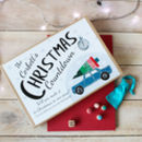 Personalised Countdown To Christmas Board Game