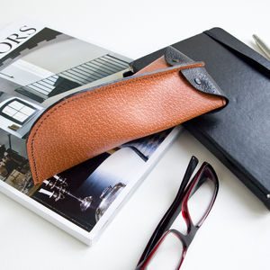 Leather Glasses Case - glasses cases