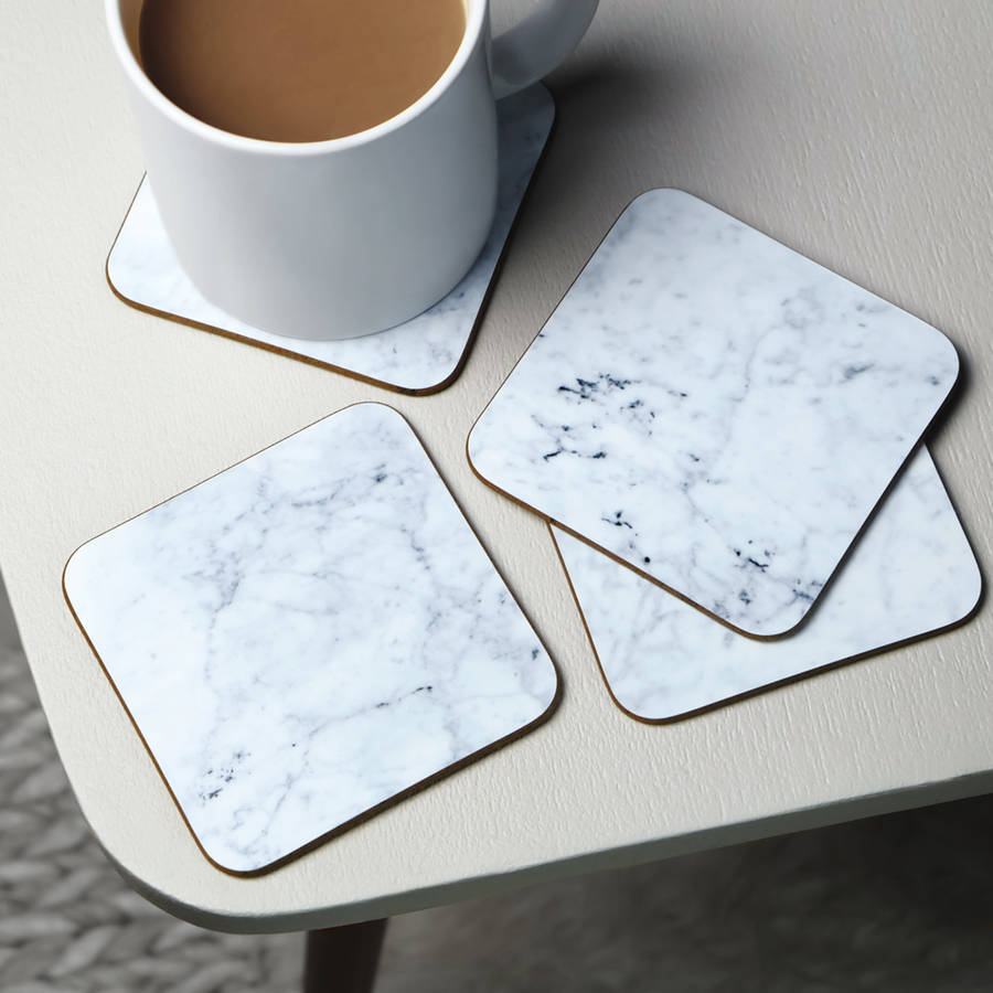 Marble Coaster By Paper Plane Notonthehighstreet Com