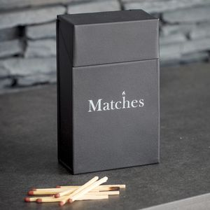Match Box - fireplace accessories