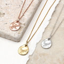 18ct Gold Or Sterling Silver Mini Teardrop Necklace