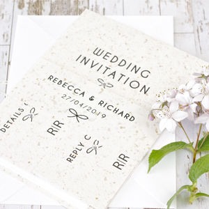 Tying The Knot Wedding Invitation Bundle - invitations