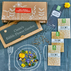 The Edible Flower Garden Gift - foodies