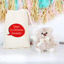 Guardian Angel Bear With Personalised Bag
