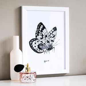 Butterfly Illustration Print