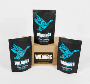 Smoked Sea Salt And Kampot Duck Crackling Gift Pack