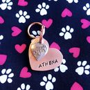 Heart And Charm Dog ID Tag