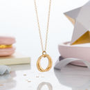 9ct yellow gold plate with clear finish, standard trace chain
