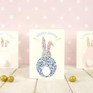 Pom Pom Easter Bunny Card - cards & wrap