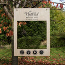 Wooden Photo Booth Prop For Social Media