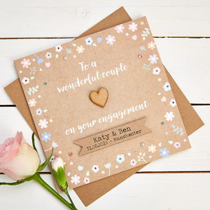 Personalised Engagement Cards - wedding, engagement & anniversary cards