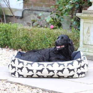 Small Spaniel Dog Bed - floor cushions