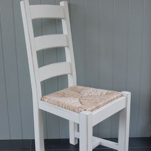 Ladder Back Chair Hand Painted In Any Colour - furniture