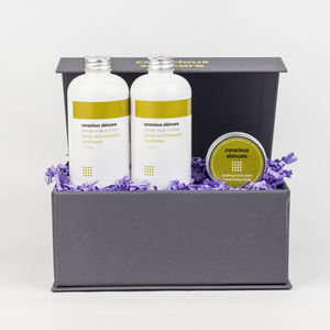Hardworking Hands Organic Gift Box - bath & body