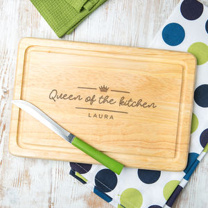 Personalised Baking Board For Her