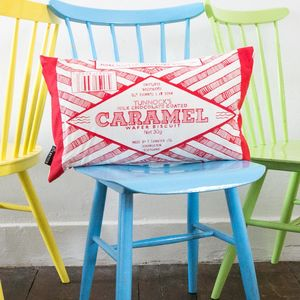 'Caramel Wafer' Biscuit Cushion - new lines added