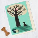 Fox Terrier Dog Card