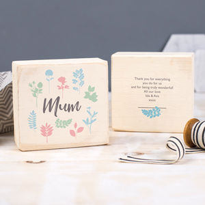 Personalised Mother's Day Keepsake - what's new