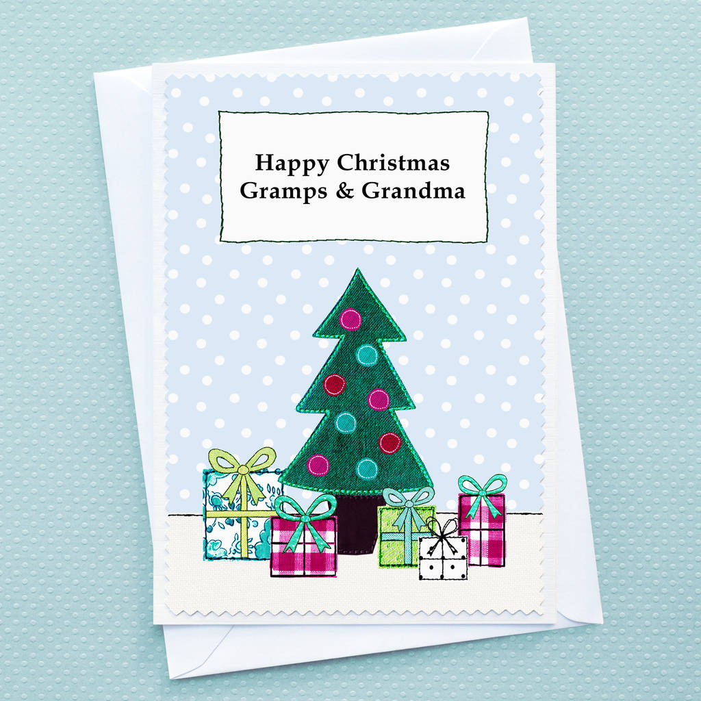'christmas Tree' Personalised Childrens Christmas Card By