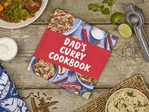 Personalised Father's Day Cookbook - father's day books