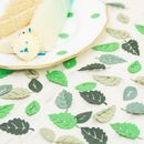 Paper leaf table confetti