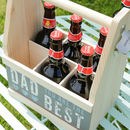 Personalised Dad's A Star Beer Crate