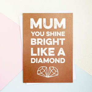 Shine Bright Mothers Day Card - what's new