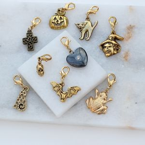 Golden Charms For Halloween - women's jewellery