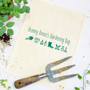 Personalised Gardening Kit Bag - gifts for grandmothers