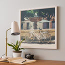 Cycling Across France Photographic Print