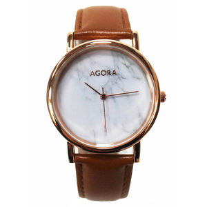 Agora Marble Wrist Watch - watches