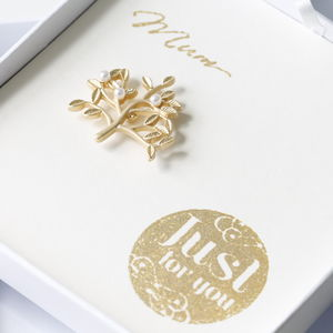 Mum Just For You Brooches - gifts for mothers