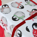 Cosy Penguin Gift Tag
