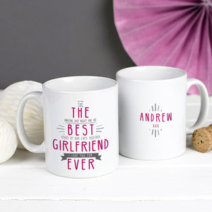 Personalised 'Best Wife Ever' Secret Message Mug - tableware