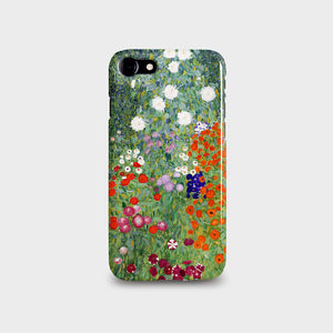 Klimt's Flower Garden For iPhone And Galaxy Cases - tech accessories