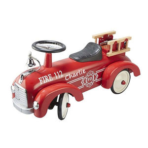 Ride On Fire Engine + Free Giant Red Bow - traditional toys & games