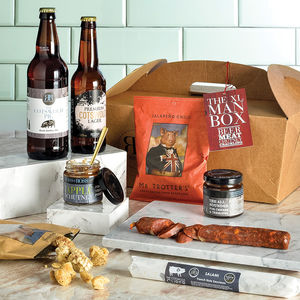 The Xl Man Box - food gifts