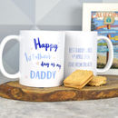 Personalised First Father's Day Daddy Mug